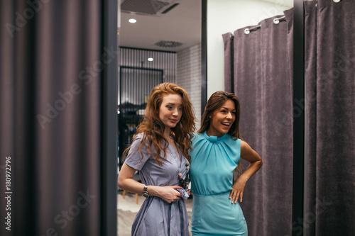 Fotografie, Obraz  I like your dress better