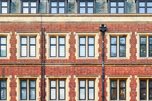 Fotografie, Obraz  Brick mansion block in London