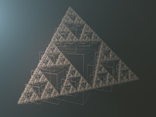 Abstract Geometric Triangle Fr...