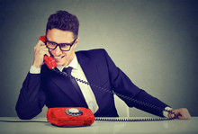 Pushy Salesman Business Man Ad...