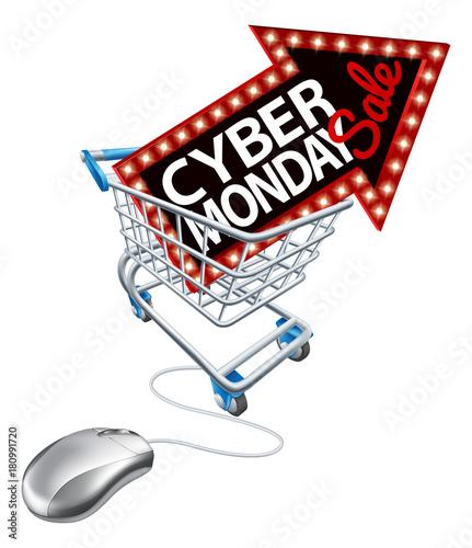 cyber monday sale online shopping trolley mouse k b denne stockvektor og udforsk lignende. Black Bedroom Furniture Sets. Home Design Ideas