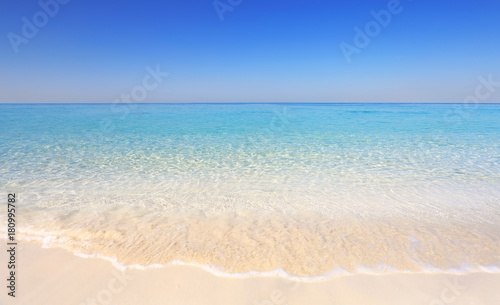 Staande foto Caraïben Tropical resort seashore