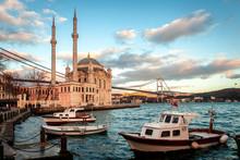 Ortaköy Mosque And Bosphorus ...