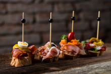 Tapas On Crusty Bread - Select...