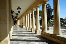 The Pillars.Corfu Town.