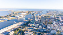 Aerial Photo Of Mobile, Alabama