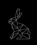 abstraction with a hare - 181034587