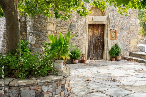 Monastery in Crete, Greece © adellyne