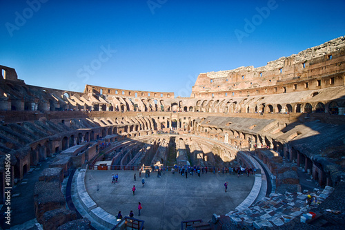 Photo  The Colosseum in Rome, Italy, HDR