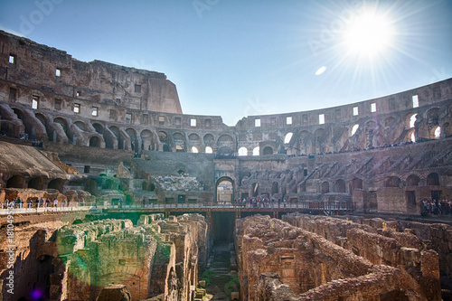 The Colosseum in Rome, Italy, HDR Fototapete