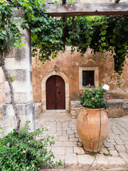 Arkadi Monastery, Crete, Greece