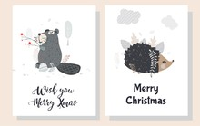 Christmas Greeting Cards In Sc...
