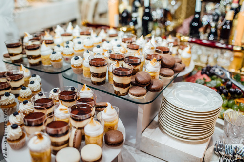 Delicious Wedding Reception Candy Bar Buy This Stock Photo And