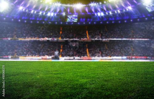 Obraz na plátně On the stadium.