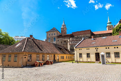 Photo  Castle Akershus Fortress in Oslo