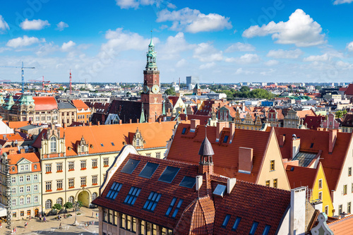 Obraz na dibondzie (fotoboard) Rynek we Wrocławiu