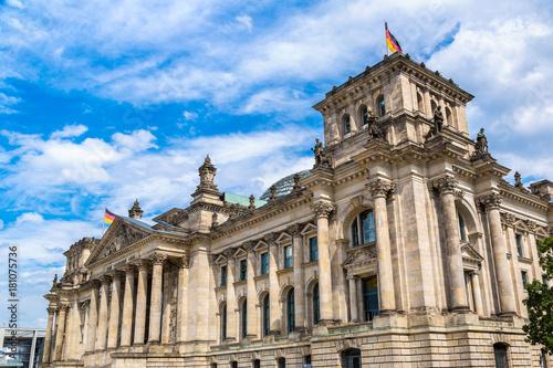 Obraz na dibondzie (fotoboard) Budynek Reichstagu w Berlinie