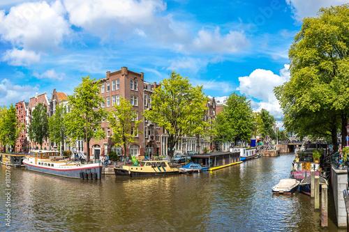 Deurstickers Amsterdam Westerkerk in Amsterdam