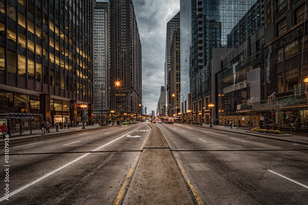 Fototapety, obrazy: Michigan Avenue