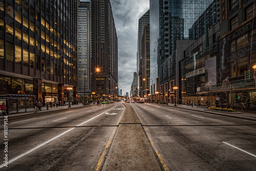Foto op Canvas Chicago Michigan Avenue