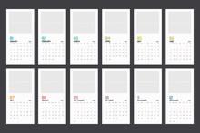 Modern Minimal Calendar Planne...
