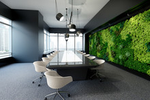 Vertical Green Wall In Modern ...