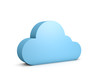 canvas print picture 3d abstract data cloud