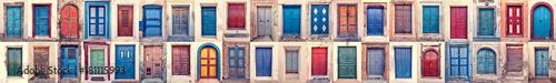 doors of santorini Wallpaper Mural