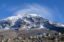 Mt. Kilimanjaro Summit From Karanga Camp