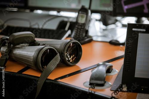Fototapeta Flight control equipment obraz na płótnie