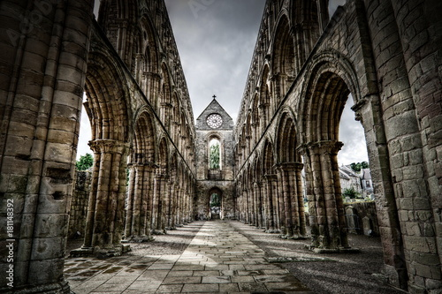 Photo Jedburgh Abbey, Scottish Borders