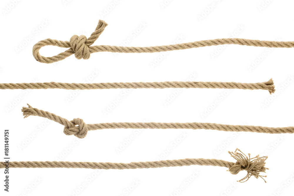 Fototapety, obrazy: ropes with knots