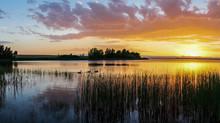 Aurora Reservoir Sunset - Colo...
