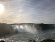 Alba alle cascate del Niagara, Ontario, Canada
