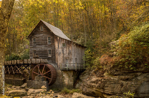 Valokuva  Babcock grist mill in West Virginia