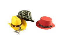 Hat For Pets On Isolated, It's...
