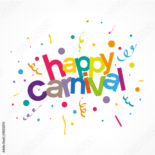 happy carnival Canvas Print