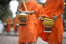 Buddhist Monks On Everyday Mor...