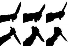 Silhouettes Of Killing Knife I...