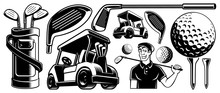 Golf Vector Clipart