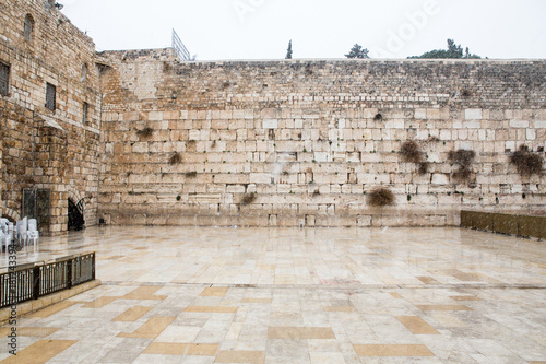 Wall Murals Place of worship Western Wall in Jerusalem