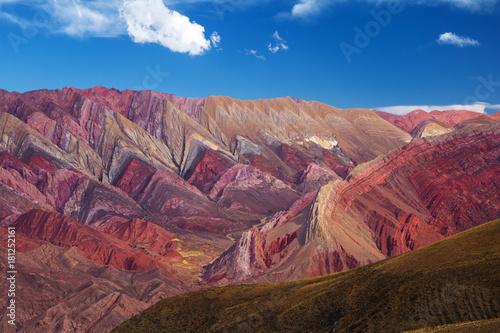 Il cerro dei 14 colori, nel nor dell'Argentina vicino a Salta Wallpaper Mural