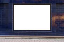 Large Blank Billboard On A Str...