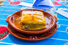 Francesinha - A Typical Portuguese Dish With A Lot Of Meat