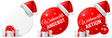 Weihnachten Angebote Aktion Bu...