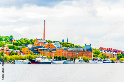 Photo  Munchenbryggeriet congress center in the swedish capital Stockholm