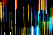 Abstract Of Multicolored City ...