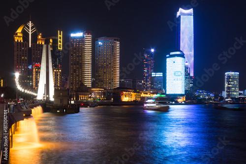 Shanghai Pudong night scene Poster