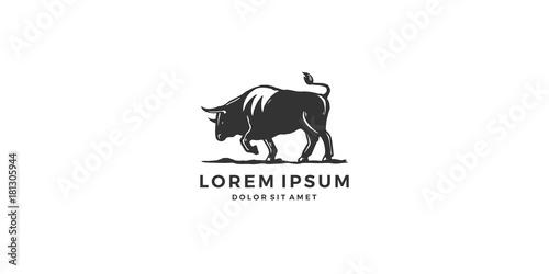 bull logo vector toro