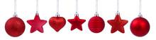 A Set Of Christmas Tree Decora...
